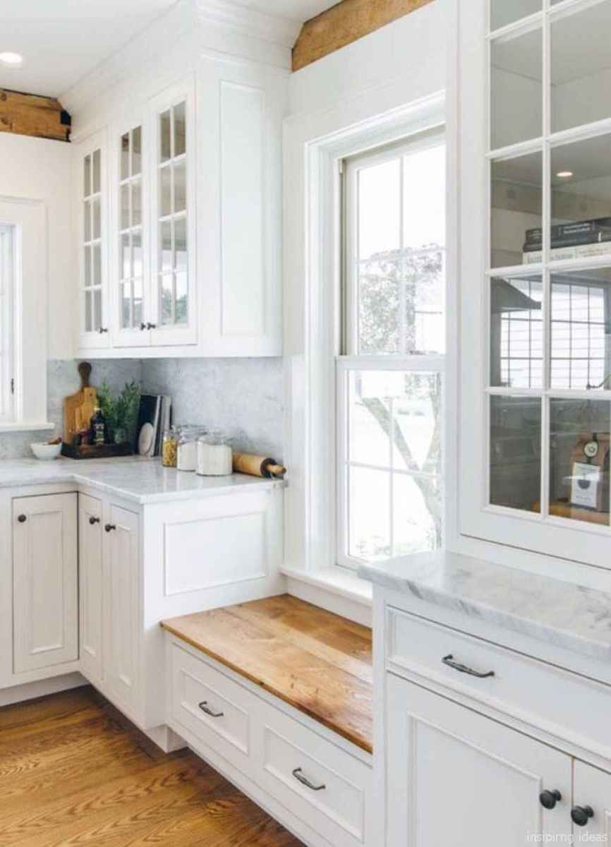 Awesome farmhouse kitchen table design ideas 06