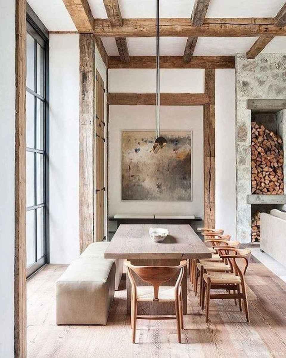 Awesome farmhouse kitchen table design ideas 50