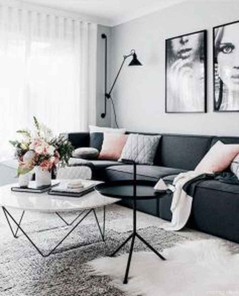 Cozy Modern Apartment Living Room Decorating Ideas On A