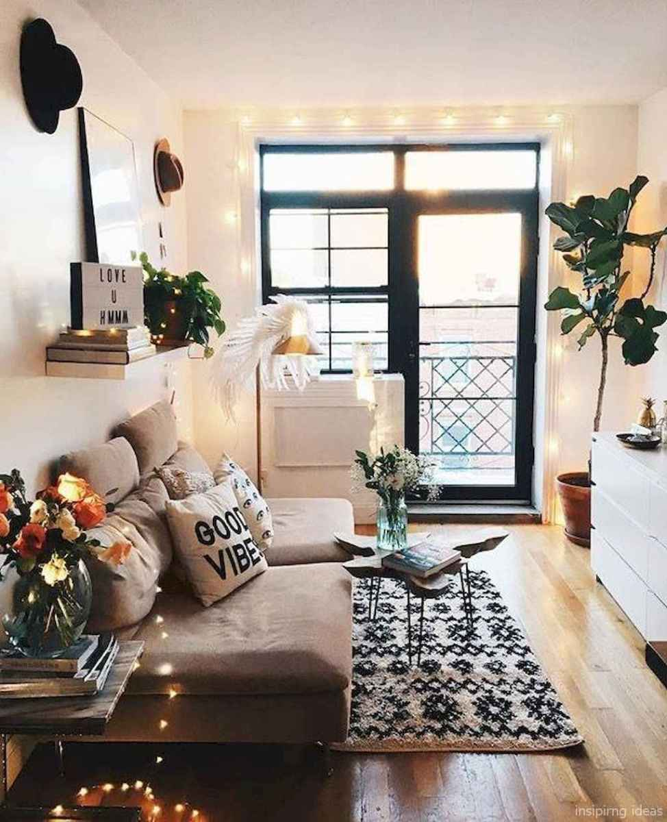 Cozy modern apartment living room decorating ideas on a budget 57
