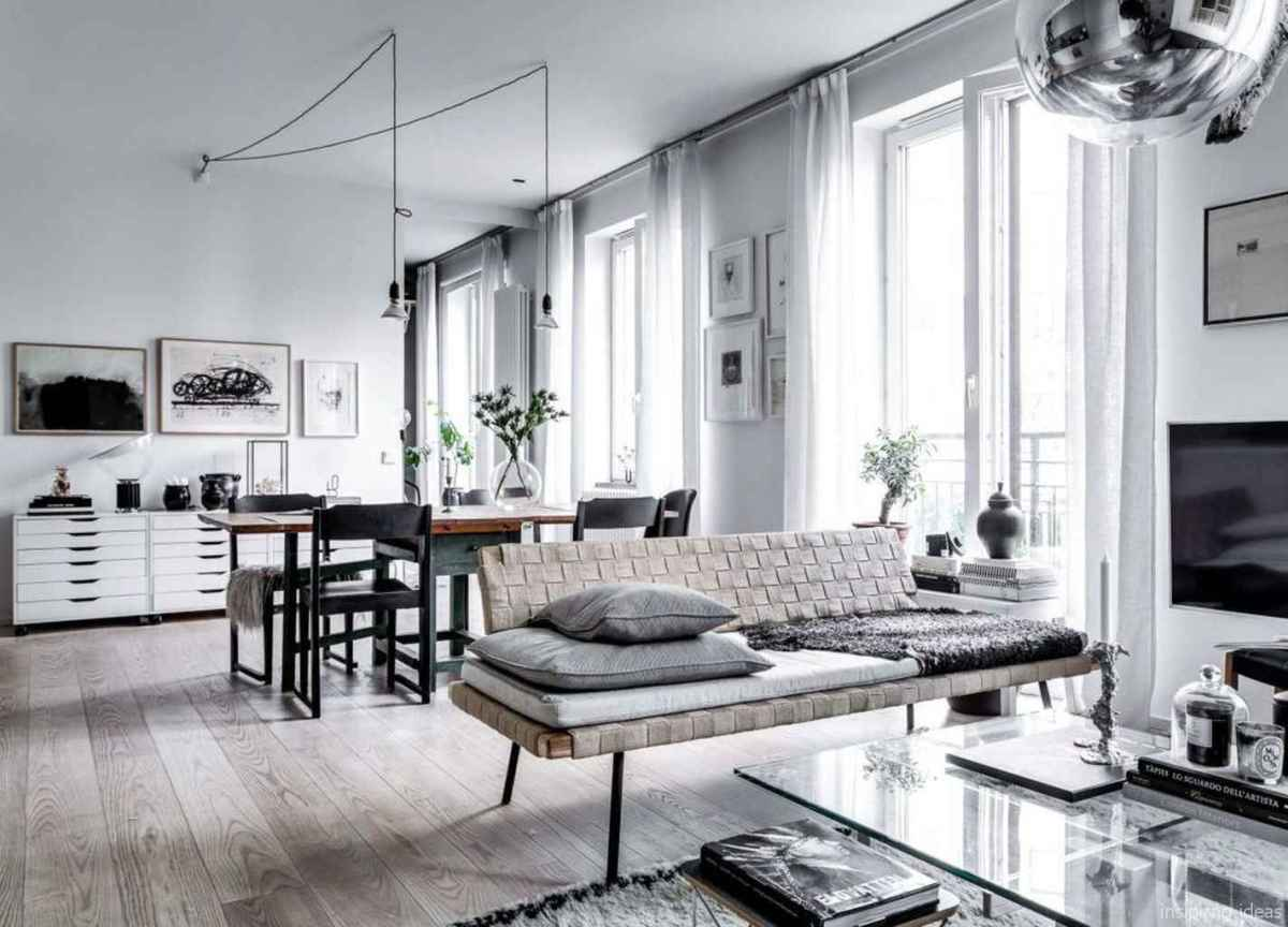 Cozy modern apartment living room decorating ideas on a budget 67