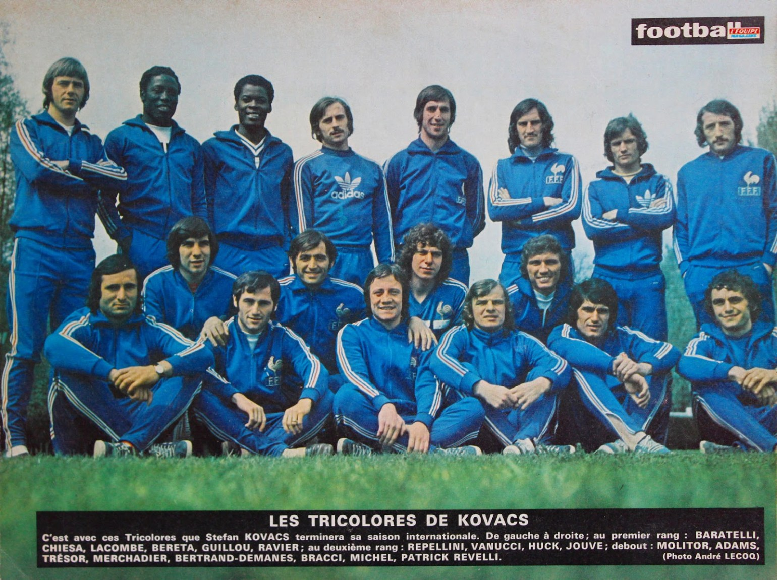 equipe de france 1974 the vintage football club.JPG