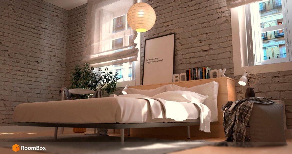 Dormitorio-Roombox-Render