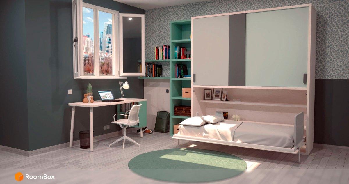 dormitorio-verde-RoomBox-render