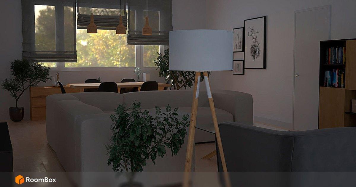 Salon Roombox Render Cloud 3