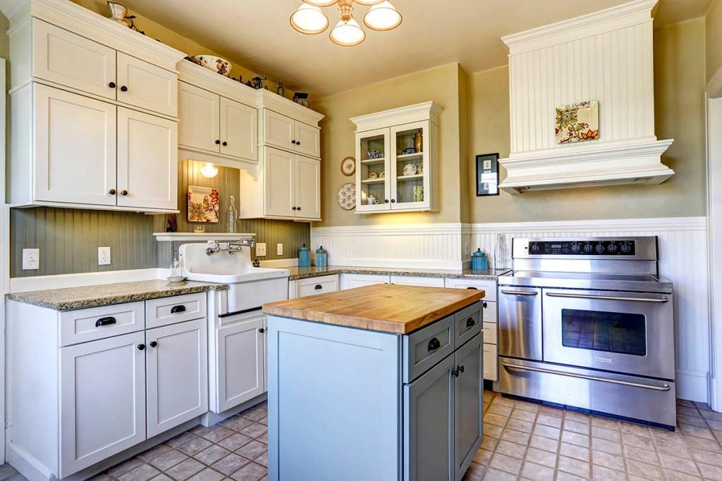 small kitchen ideas -Add a kitchen area island