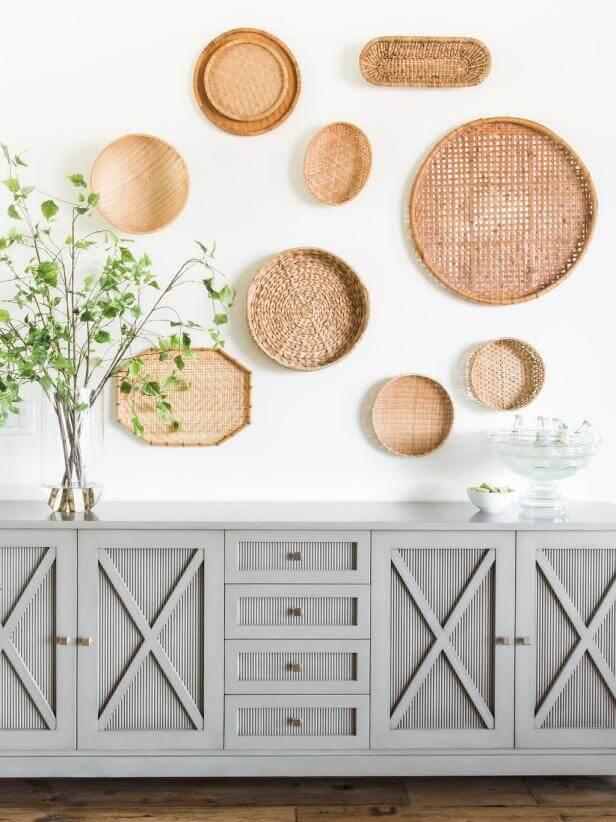 Wall Decor Ideas - Baskets