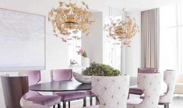 Room Decor Ideas Sala de Diseño de Iluminación Lámparas de suspensión de lujo Comedor diseño de lujo Comedor 1