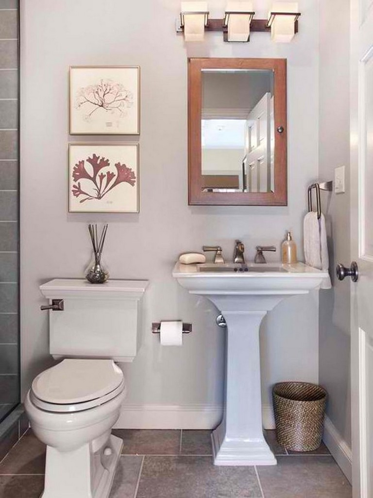25 Beautiful Small Toilet Design Ideas For Small Space In Your Home Page 28 Of 28