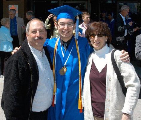 David Spira Undergrad Graduation