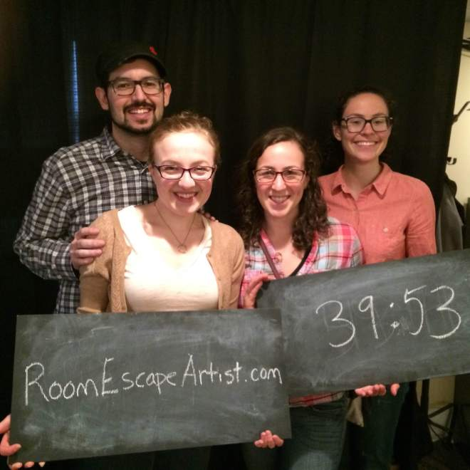 Room Escape Artist - New Haven Workshop