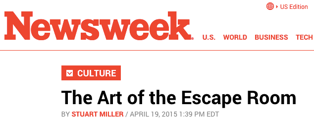 Room Escape Artist Newsweek