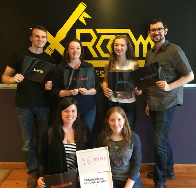 X-Rooms Prison Break - Escaped