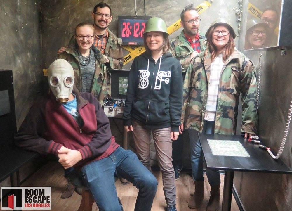 Room Escape Los Angeles - Cold War Bunker
