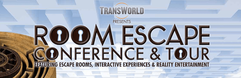 Transworld Niagara Falls Room Escape Conference Logo