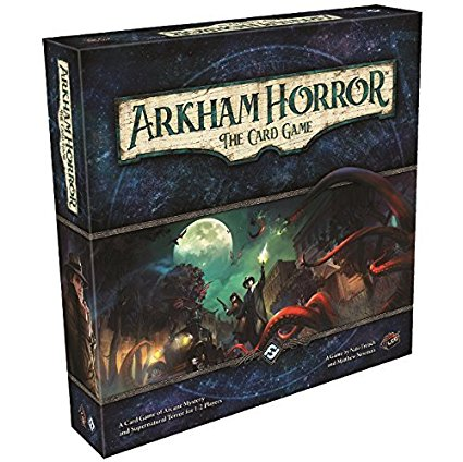 Arkham Horror the Card Game box art.