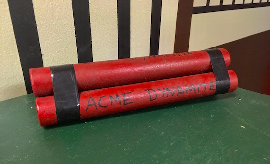 In-game: ACME Dynamite