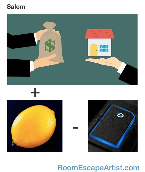 Salem Rebus: Sale + Lemon - On