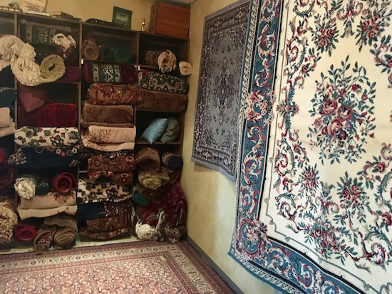 In-game: A rug shop.