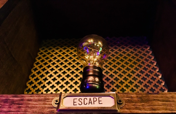In-game: an incandescent lightbulb labeled