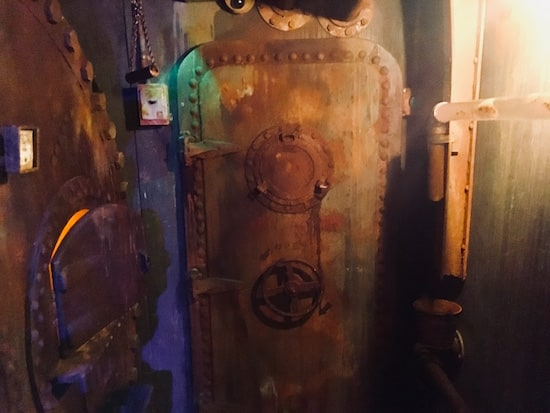In-game: The entrance door.