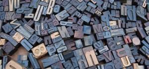 assorted printing blocks