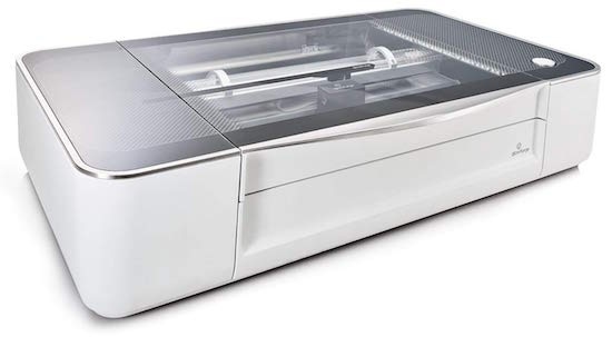 A glowforge 3d laser printer.