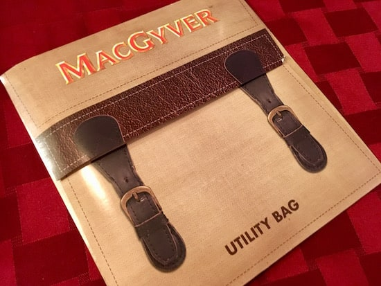 In-game: MacGyver's utility bag.