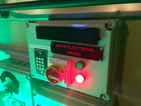 In-game: Main electrical panel, disabled.