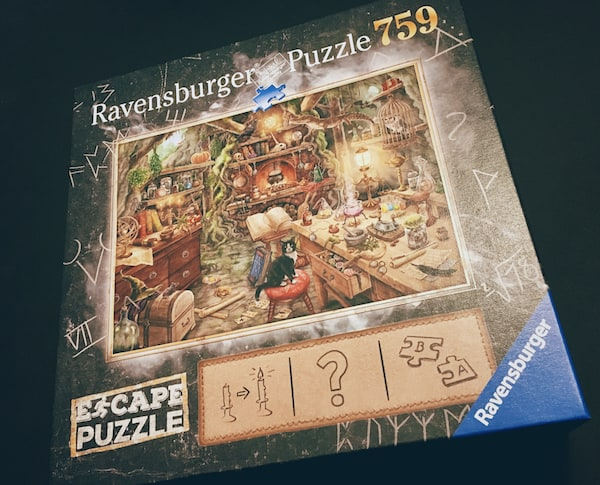The cover of Ravensburger Escape Puzzle, Witch's Kitchen.