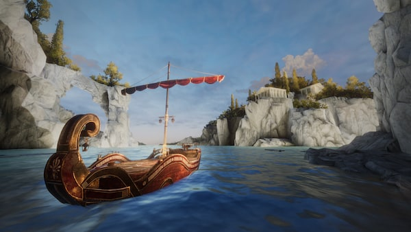 In-game: The Argo in the Mediterranean.