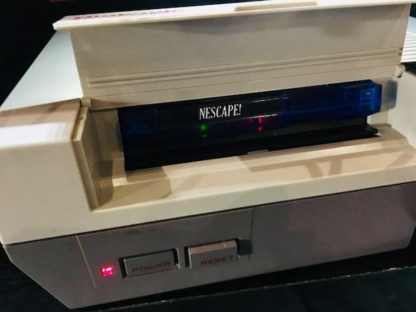 NEScape! in a NES.