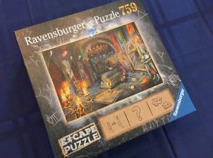 The Vampires Castle Escape puzzle box.