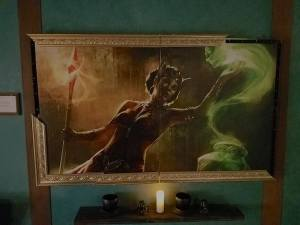 A painting of the Collector collecting a soul.