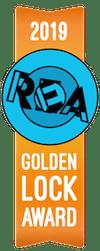 Small 2019 Golden Award Ribbon