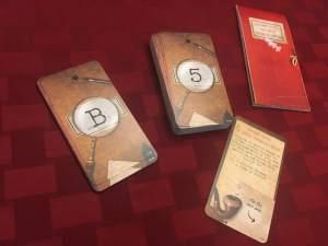 Sherlock Holmes deck stacks.