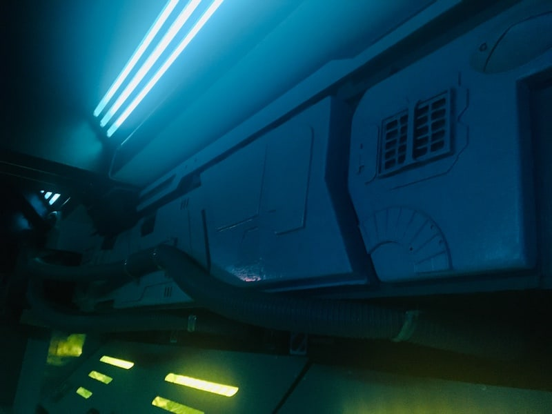 In-game: The ceiling of the ship.