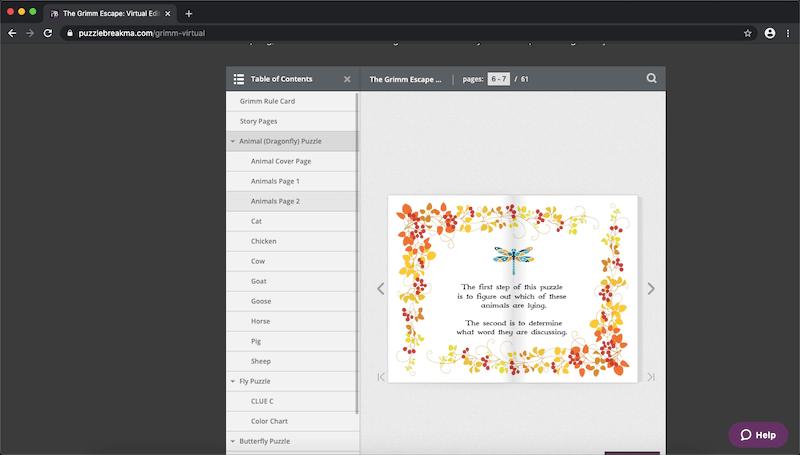 The book/ PDF setup.