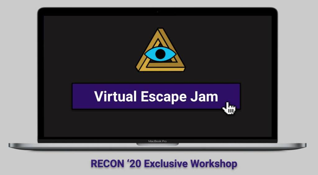 RECON Virtual Escape Jam ad