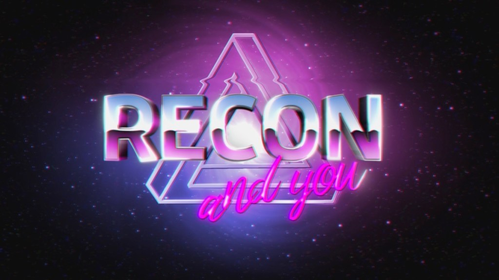 the words RECON and you over a Penrose triangle