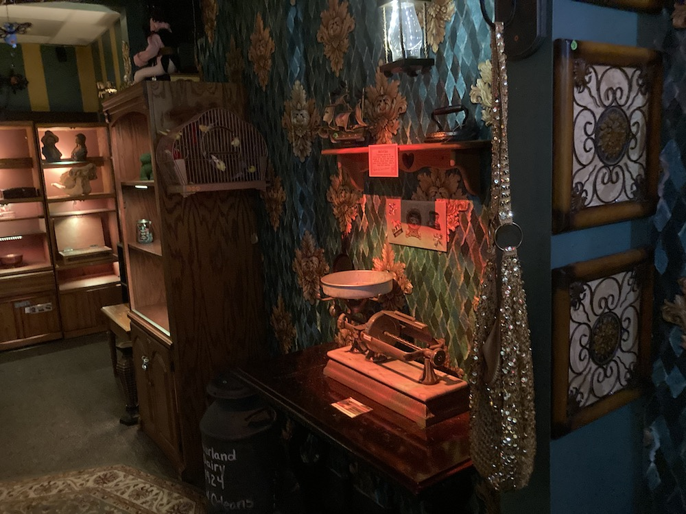 An eclectic New Orleans curio shop.