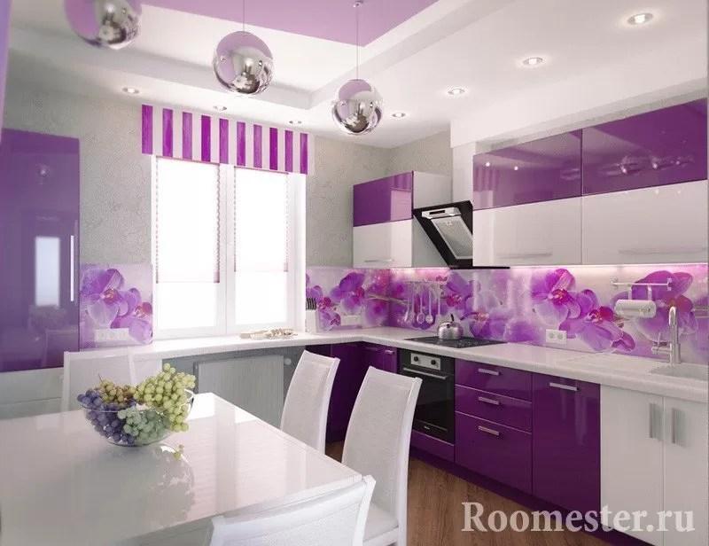 f96e3577c7 Kombinácia vnútorných kuchynských fasád a stien. Kombinácia farieb v ...
