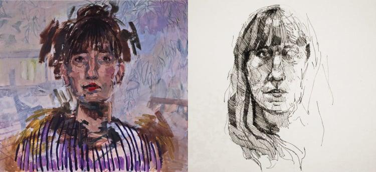 lauren-stern-self-portrait