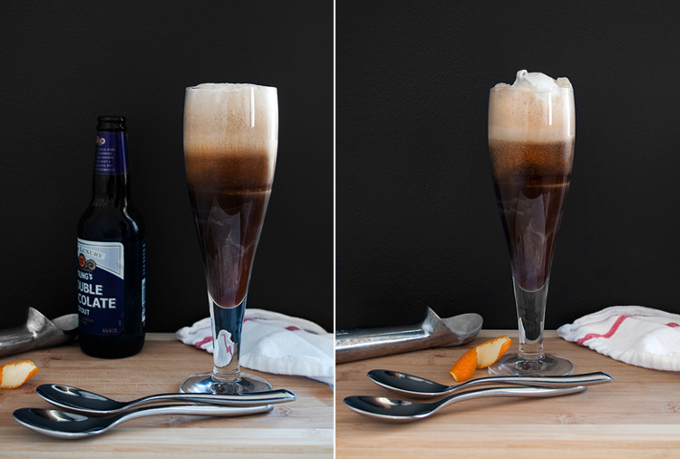 dessert cocktail: affogato speciale