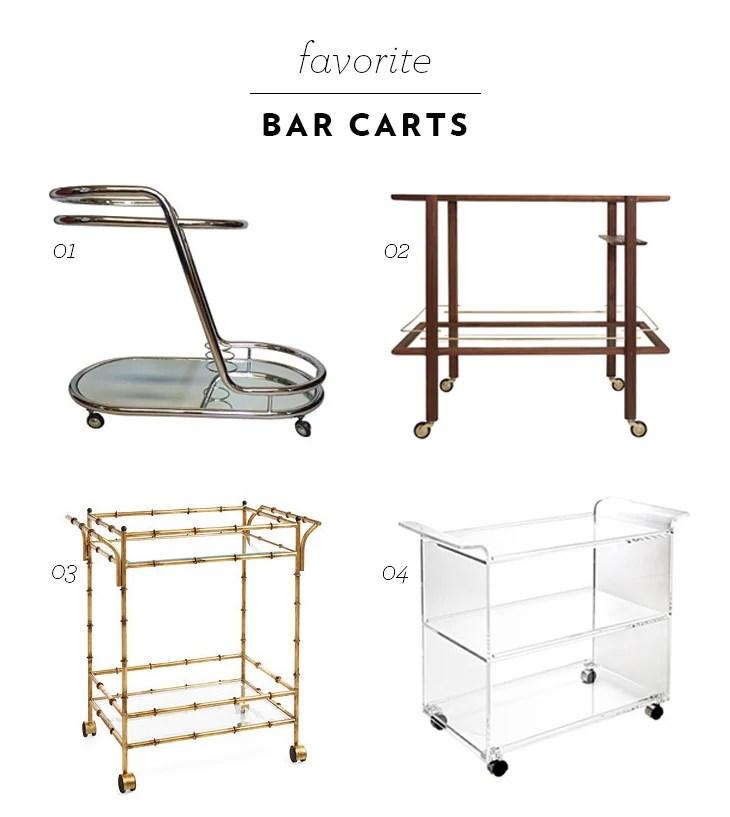 Favorite Bar Carts