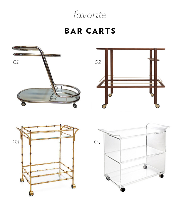 Favorite Bar Carts