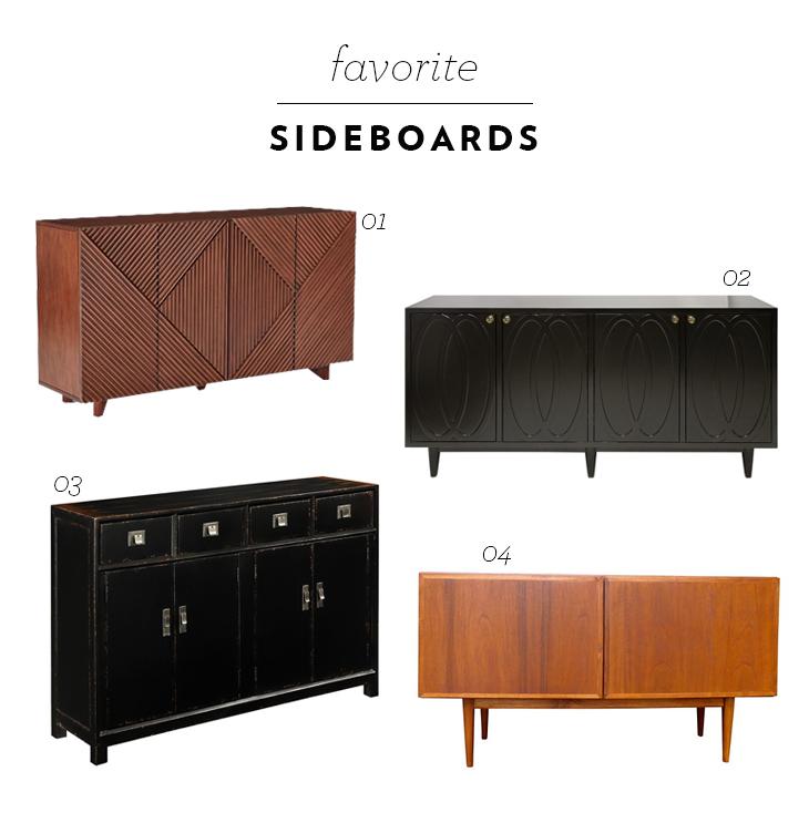 Favorite Sideboards