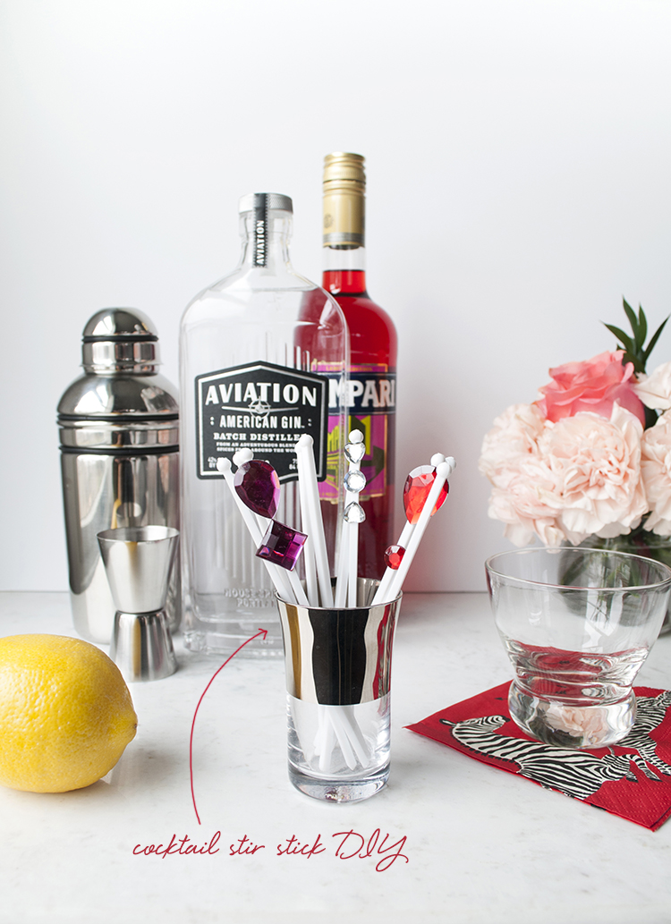 Valentine Cocktail | Room for Tuesday