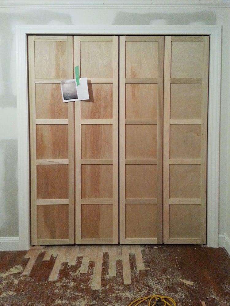 Paneled Bi Fold Closet Door Diy Room For Tuesday