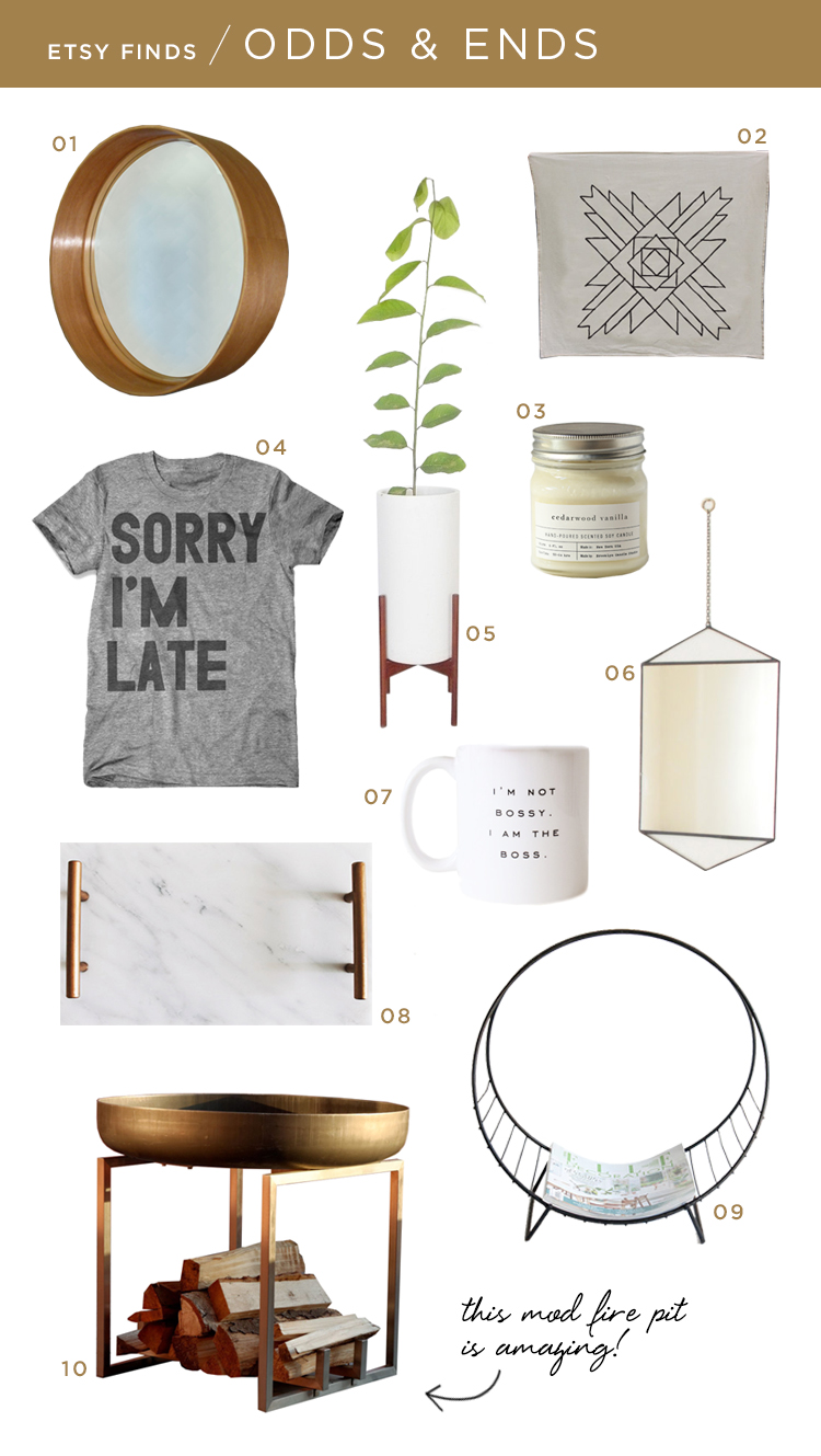 Etsy Finds | Room for Tuesday